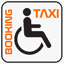 Transports for disabled tourists by wheelchair taxi-minibus adapted for wheelchairs, accessible travels in Thailand.